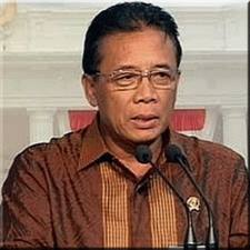 Coordinating Minister for Political, Legal and Security Affairs, Djoko Suyanto