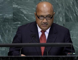 Fiji Minister for Foreign Affairs Ratu Inoke Kubuabola